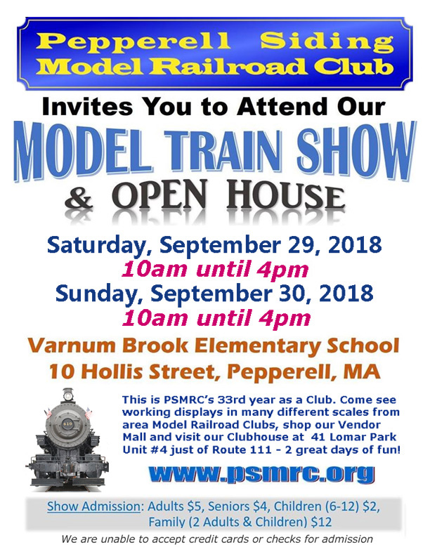 2018PSMRC Show and Open House